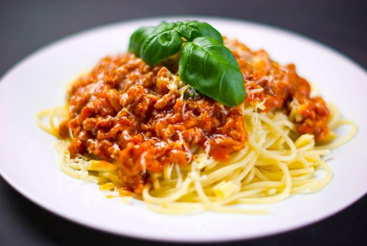 Italian catering - spaghetti