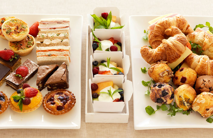 conference catering - corporate breakfast