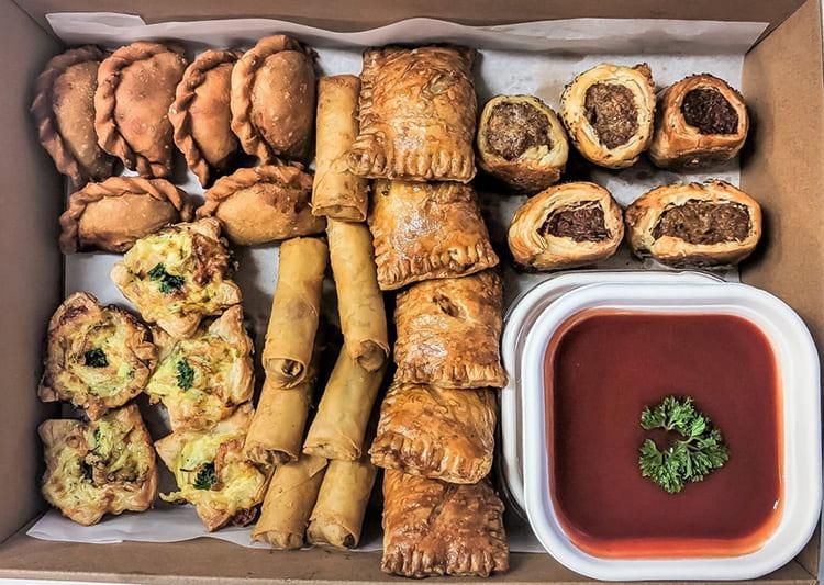 hot finger food platter by Sevenoaks Catering Perth