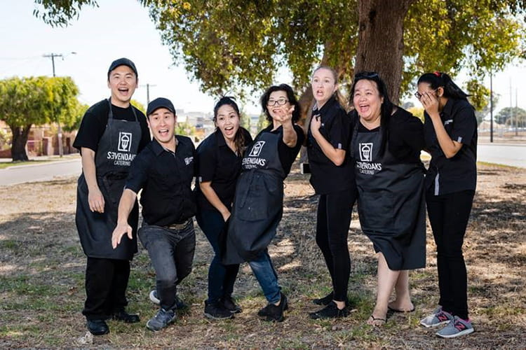 Meet the corporate catering team at Sevenoaks Catering Perth