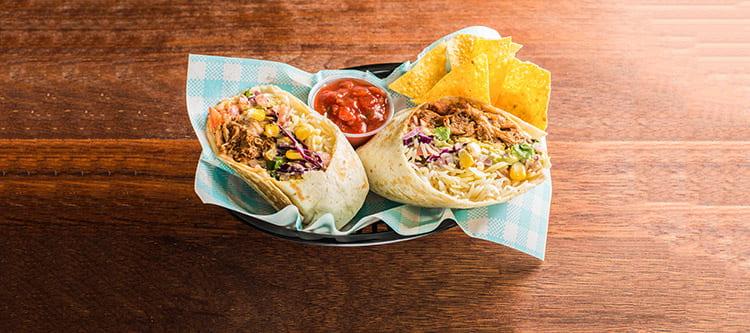 Mexican catering – burritos from Brunswick Burrito