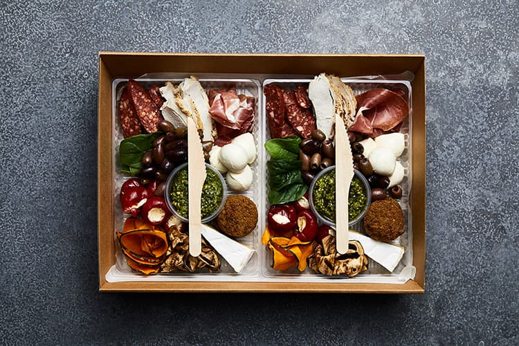 Melbourne corporate catering - Cultural Catering antipasti box