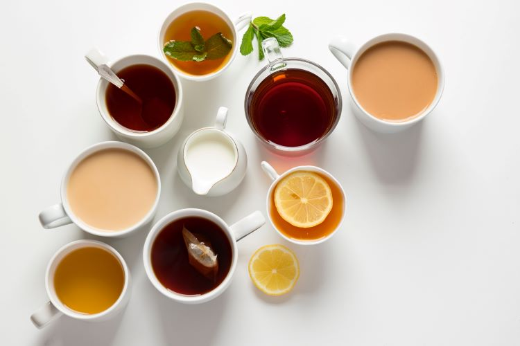 Don't forget to offer variety of teas for your afternoon tea event