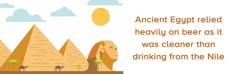 your guide to beer - Ancient Egypt beer fun fact