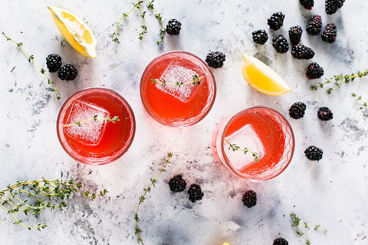 fresh spring cocktails for cocktail parties