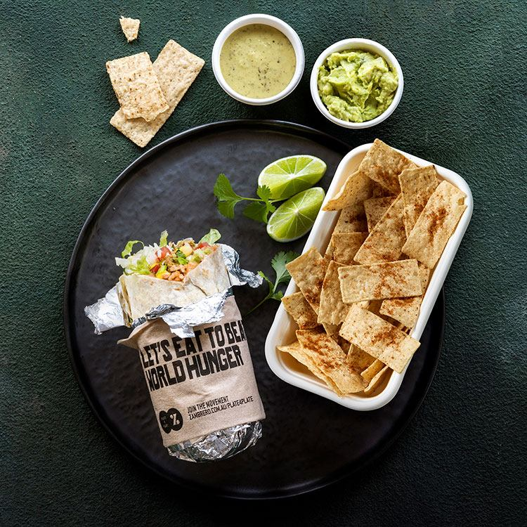 try the Mexican corporate catering – chikito from Zambrero