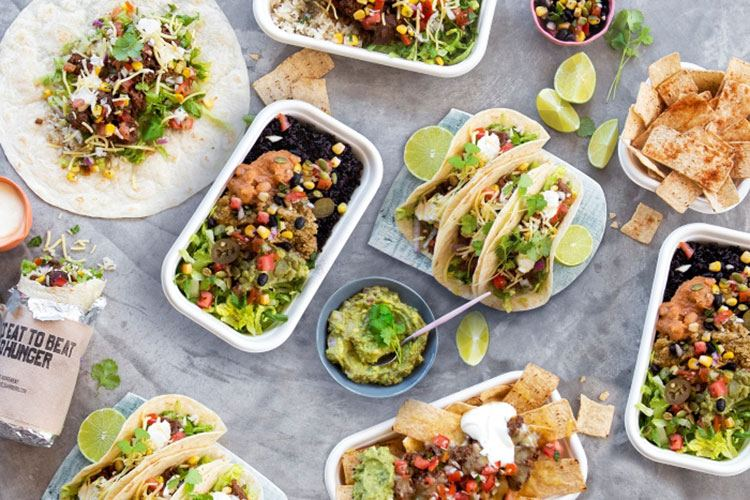 tasty Mexican office catering from Zambrero